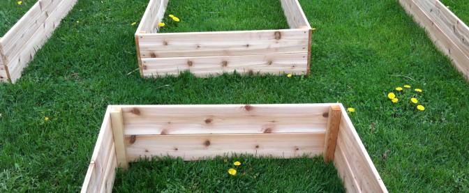 Building Our Garden Boxes