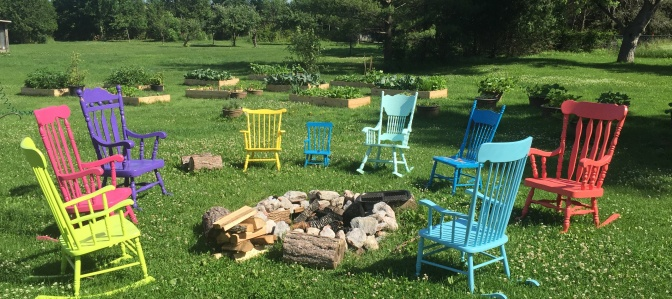 How To Make A Rockin' Firepit